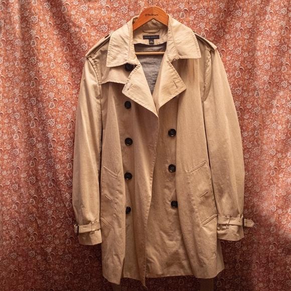 4a95561ba5 Banana Republic Jackets & Coats   Mens Water Resistant Trench Coat ...